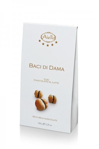 Baci di dama (mit Milchschoko)