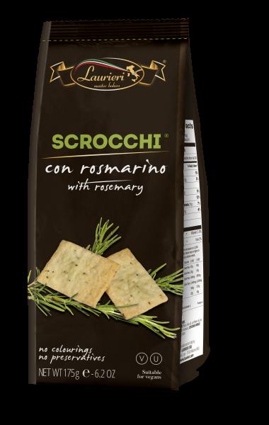 Scrocchi-KräckerROSMARIN 175g