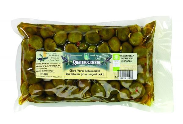 Bio-Oliven grün, Öl+Kr.