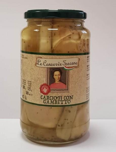 Carciofi con Gambetto Conserve Toscane