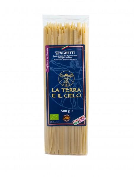 Bio-Spaghetti,helleFarbe al bronzo