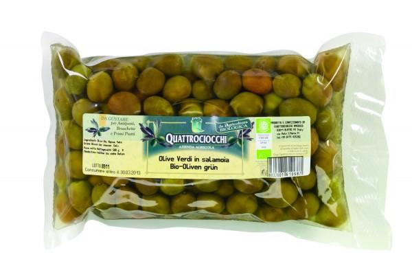 Bio-Olivengrün, Salzlake