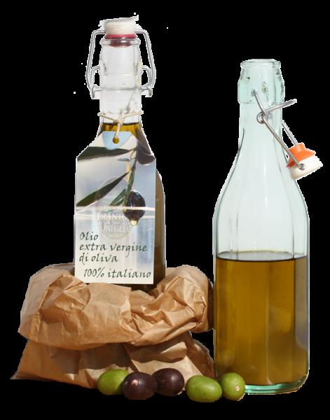Olivenöl Bügelflasche