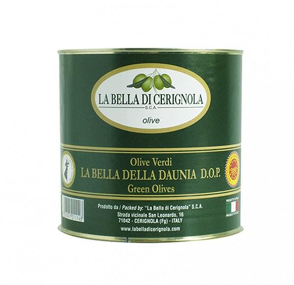 Olive Bella di Cerignola verde