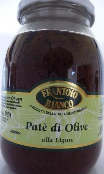 Olivenpatéschwarz