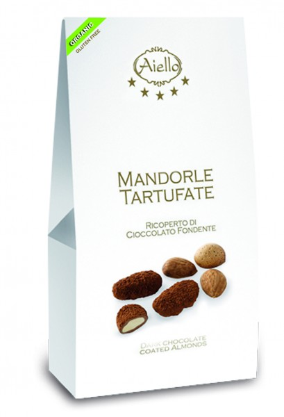 Mandeln mit Bitterschokolade