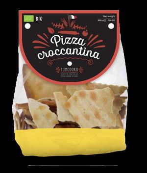 Pizza croccante al pomodoro Bio