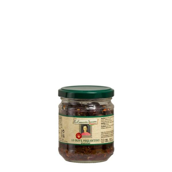Olive piccantine Conserve Toscane
