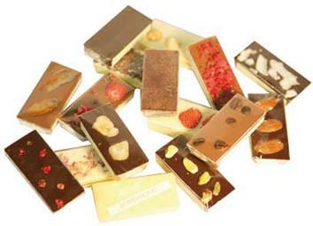 Mini Schokoladen 35 g sortenreiner Karton