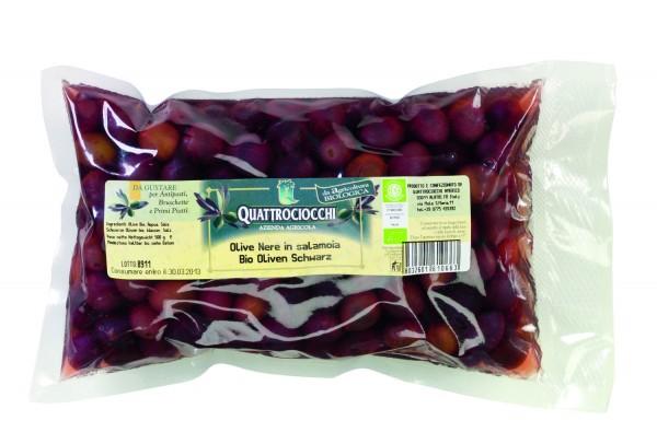 Bio-Olivenschwarz, Salzlake
